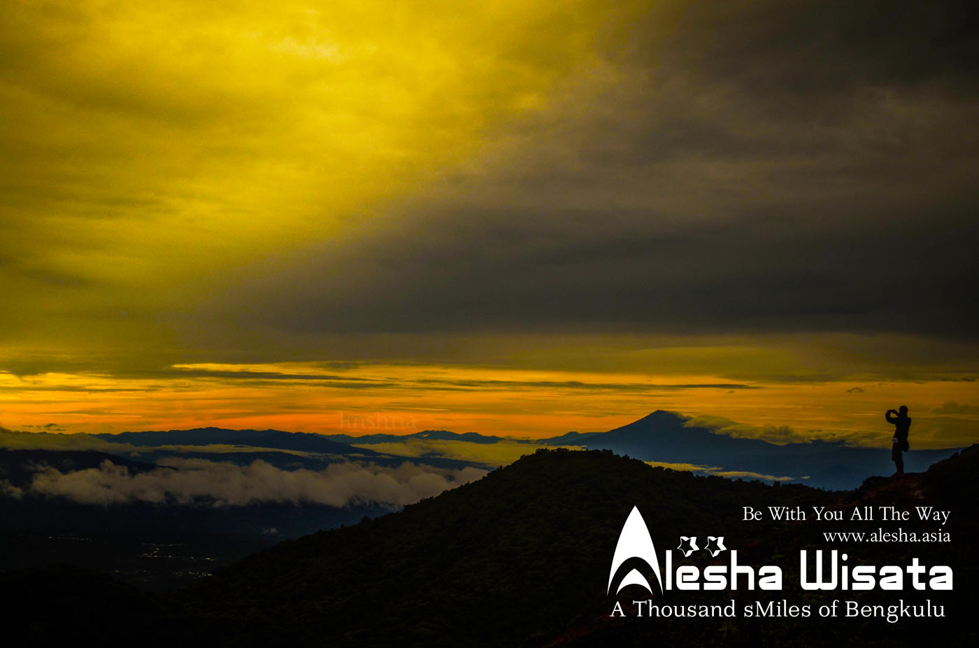 Alesha Wisata • Be with you all the way